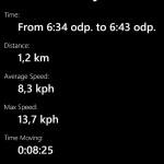 HTC distance